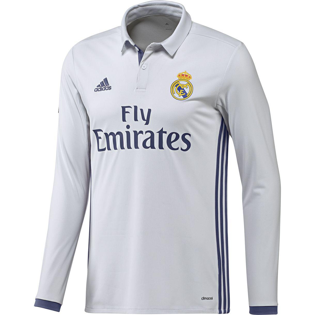 Real Madrid thuis shirt 2016-2017 - longsleeve ...