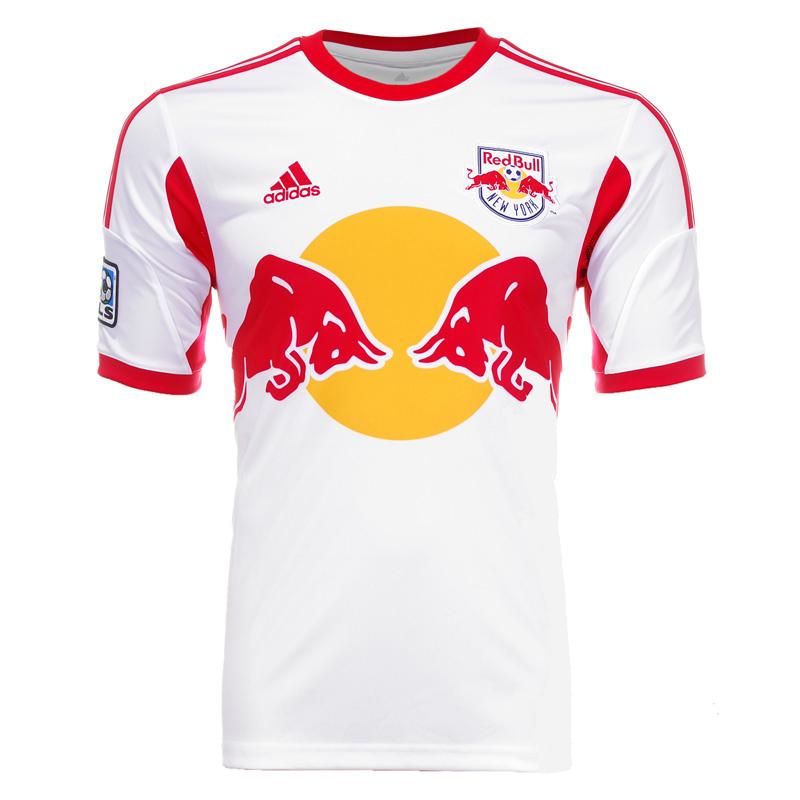 New york red bulls thuisshirt 2013 for Red bull logo shirt