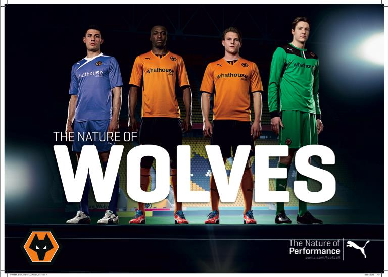 Wolves voetbalshirts 2013/2014