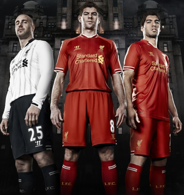 Liverpool voetbalshirts 2013/2014