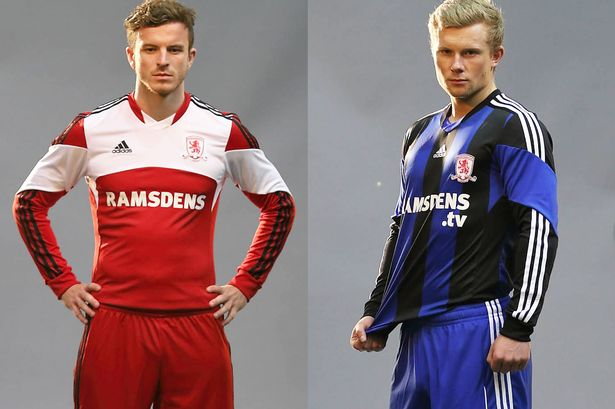 Middlesborough voetbalshirts 2013-2014