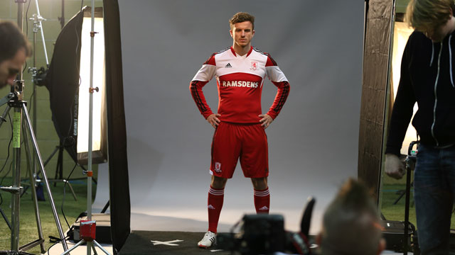 Middlesborough thuisshirt 2013-2014
