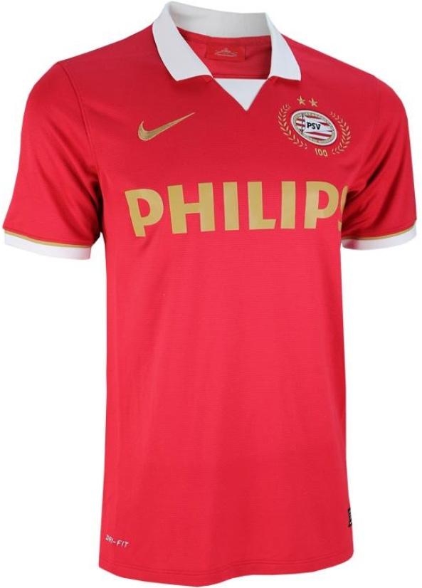 100 jarig jubileum psv PSV 100 jarig jubileum thuisshirt 2013/2014   Voetbalshirts.com 100 jarig jubileum psv