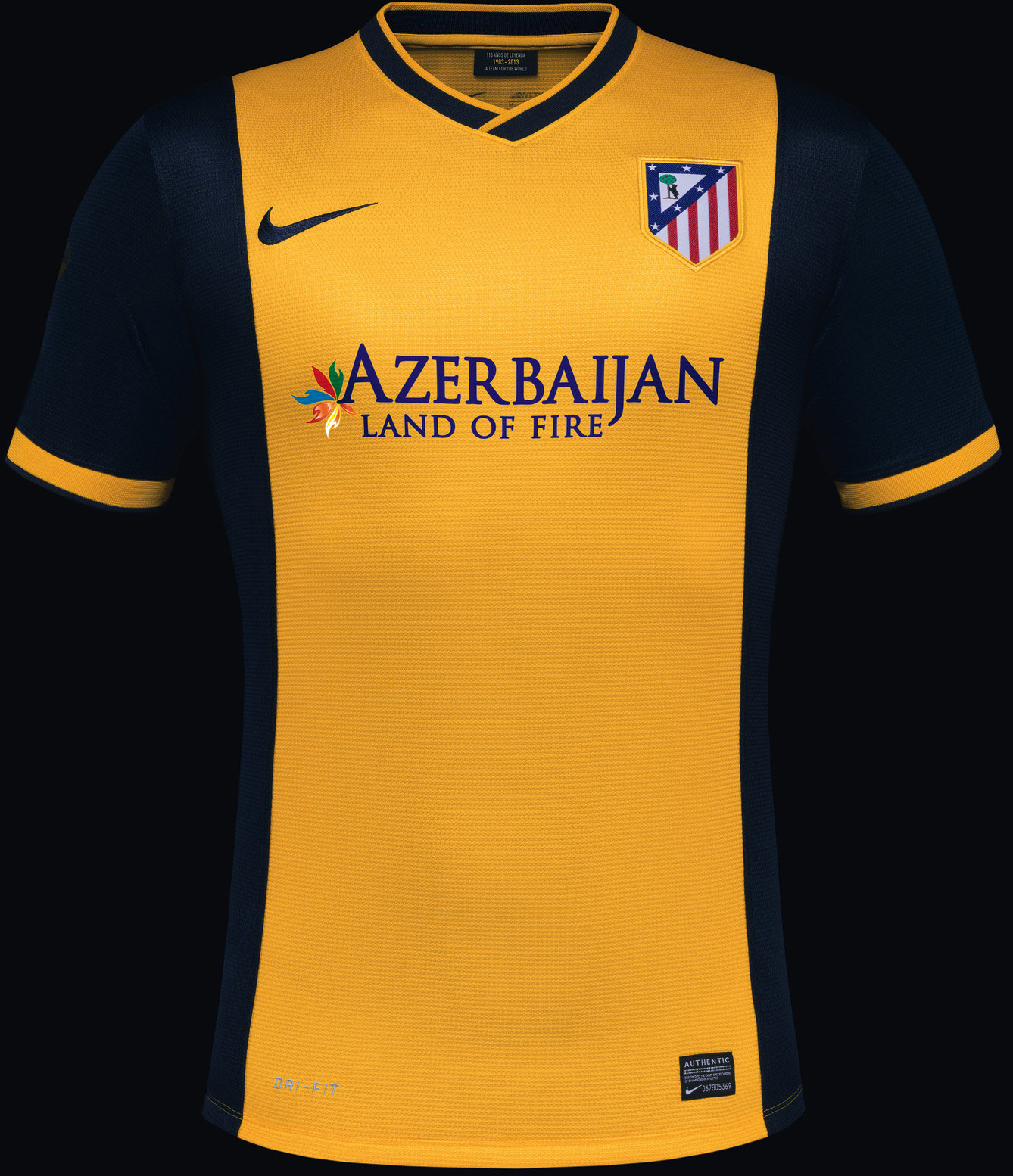 Atletico Madrid uitshirt 2013-2014