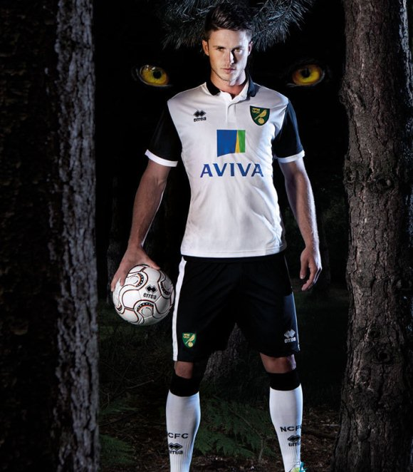 Norwich City uitshirt 2013/2014