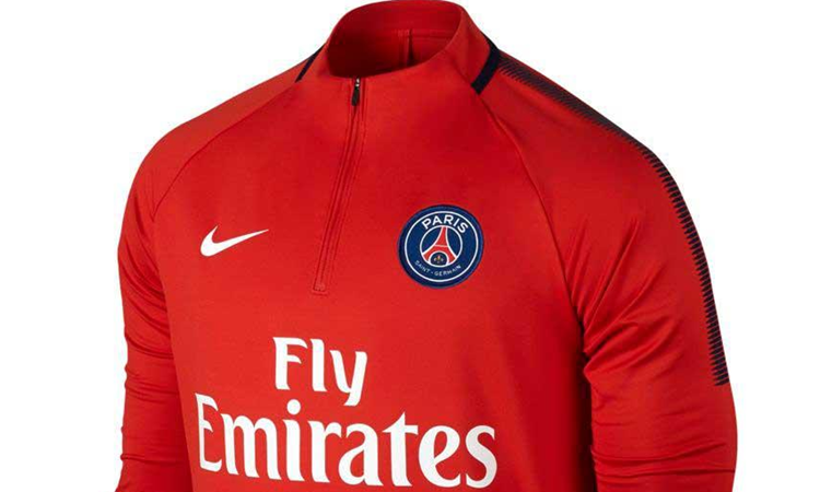 Nike Paris Saint Germain Dry Squad Drill Trainingspak 2017