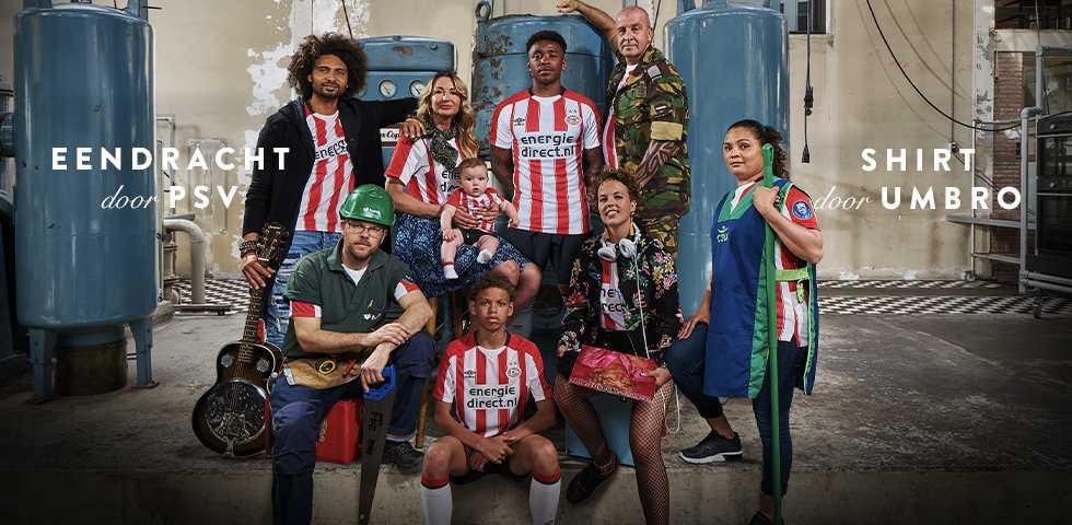 PSV thuisshirt 2017-2018 - Voetbalshirts.com