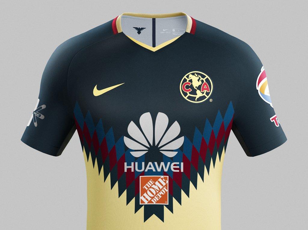 san francisco 71a35 da0d4 Club America thuisshirt 2017-2018 - Voetbalshirts.com