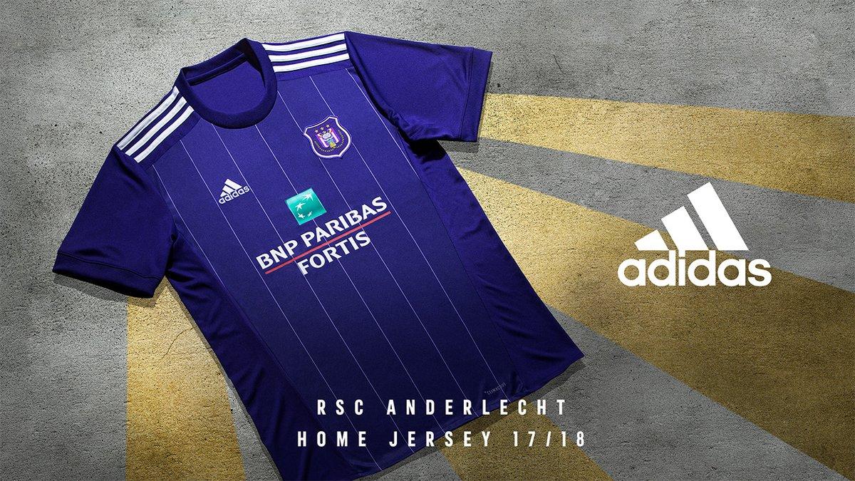 Anderlecht thuisshirt 2017-2018 - Voetbalshirts.com
