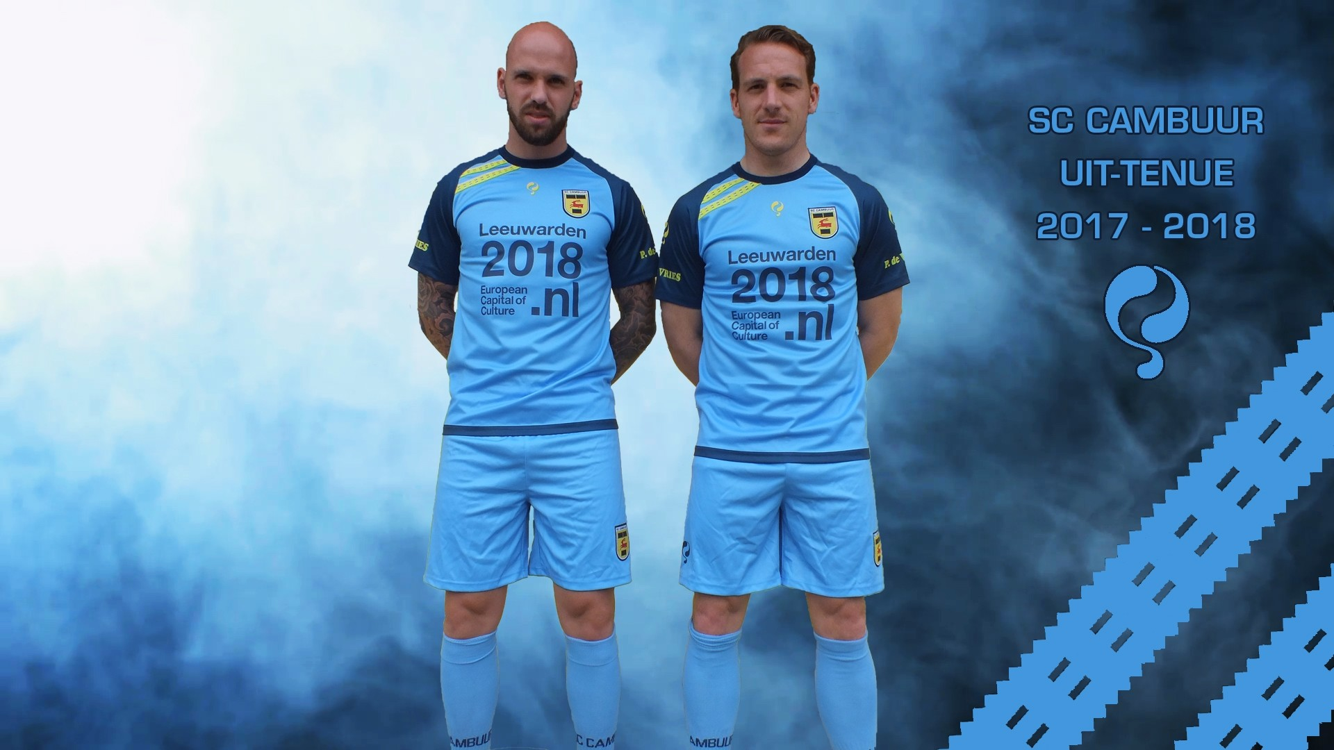 Sc Cambuur Voetbalshirts 2017 2018 Voetbalshirts Com