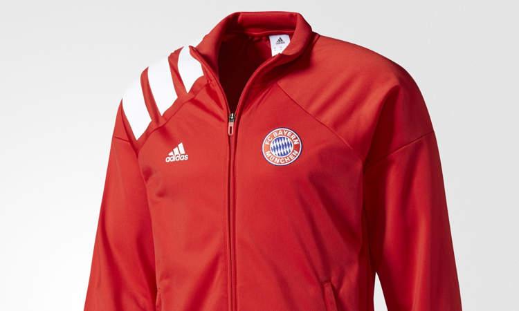 a76ac98a6d5 Bayern Munchen goes retro! Vandaag heeft adidas namelijk een speciaal retro  trainingspak voor de kampioen van Duitsland bekend gemaakt.