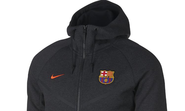 dd004bcf6c74 Nike lanceert tech fleece Barcelona pak voor 2017- - Voetbalshirts.com