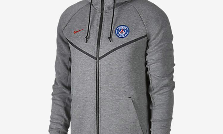 51f40b635d0 Paris Saint-Germain Tech Fleece trainingspak 2018 - Voetbalshirts.com