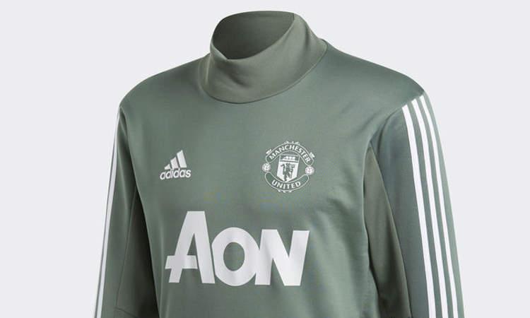 manchester united adidas trainingspak 2018 voetbalshirts com manchester united adidas trainingspak