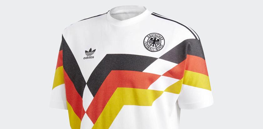 adidas germany 1990 shirt