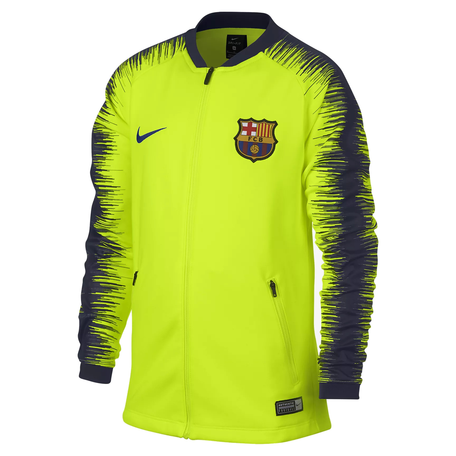 4413414080a FC Barcelona Trainingsjack - Voetbalshirts.com
