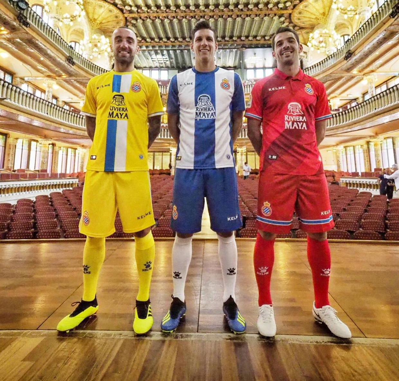 Espanyol voetbalshirts 2018 2019
