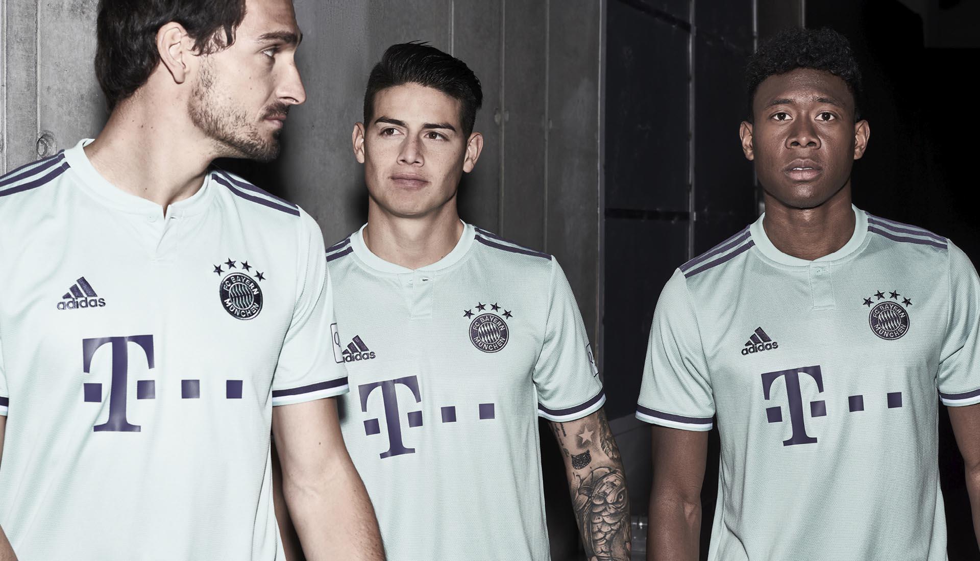 Bayern München uitshirt 2018 2019