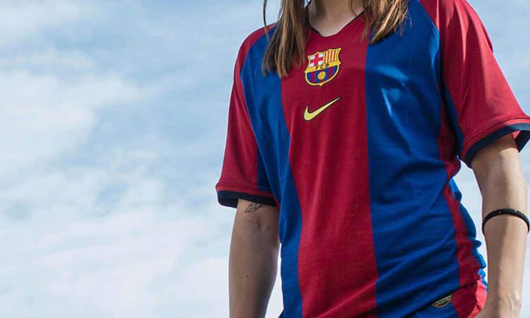 san francisco 7b697 ca855 Barcelona voetbalshirt 1998-1999 opnieuw gelanceer ...