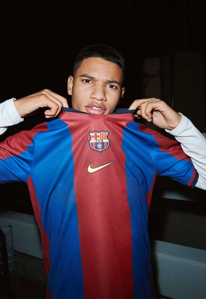 san francisco 944e1 66c1e Barcelona voetbalshirt 1998-1999 opnieuw gelanceer ...