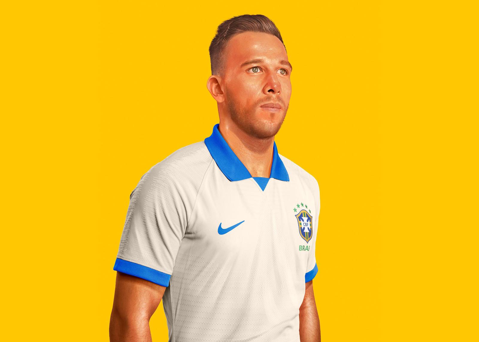 Brazilië Uitshirt 2019 2021 Voetbalshirts Com