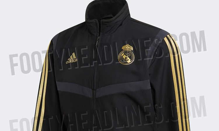 f613b8a72bb Komend seizoen dragen de spelers van Real Madrid ook weer een nieuw  presentatiepak. Dit nieuwe trainingspak wordt door adidas en de Spaanse  topclub ...