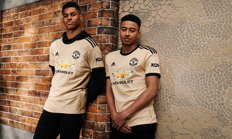 Manchester United Uitshirt 2019 2020 Voetbalshirts Com