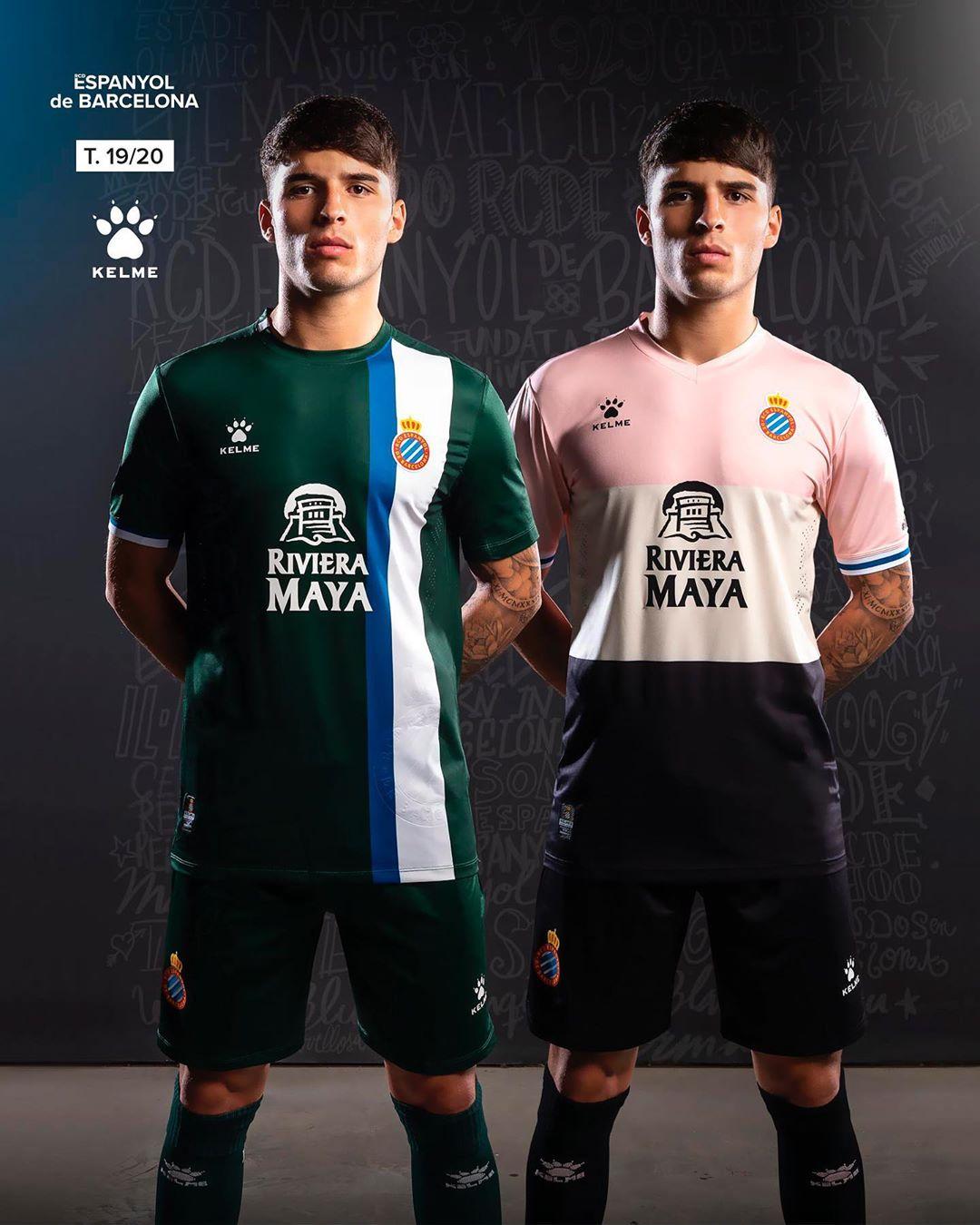 Espanyol uitshirt en 3e shirt 2019 2020