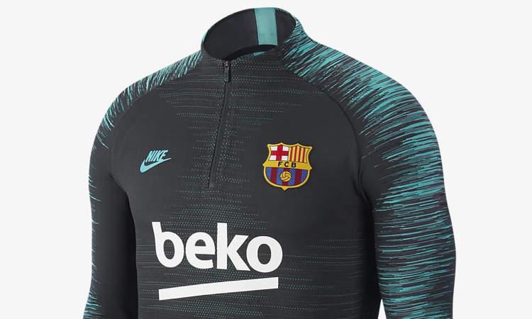 Carne de cordero Desafío filosofía  Goedkoop Barcelona trainingspak voor volwassenen - Voetbalshirts.com