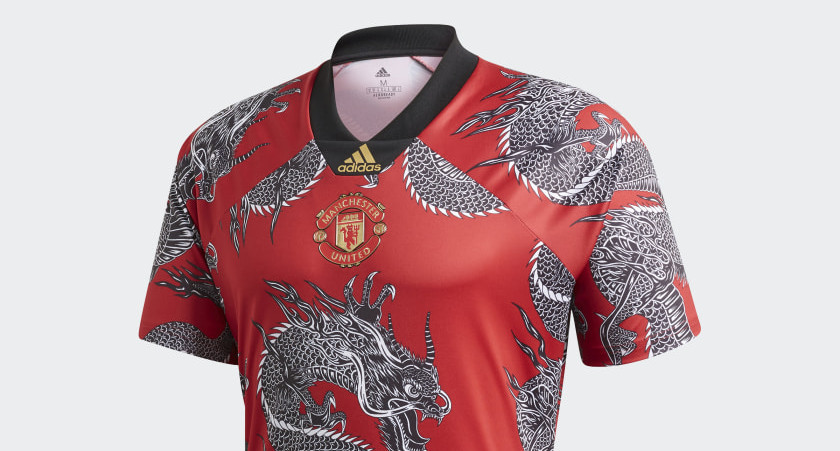 Manchester United Chinese New Year voetbalshirt 20