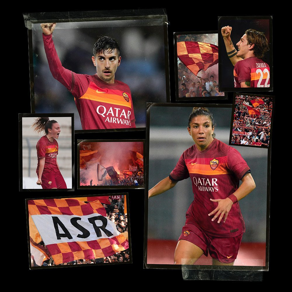 AS Roma voetbalshirt 2020-2021