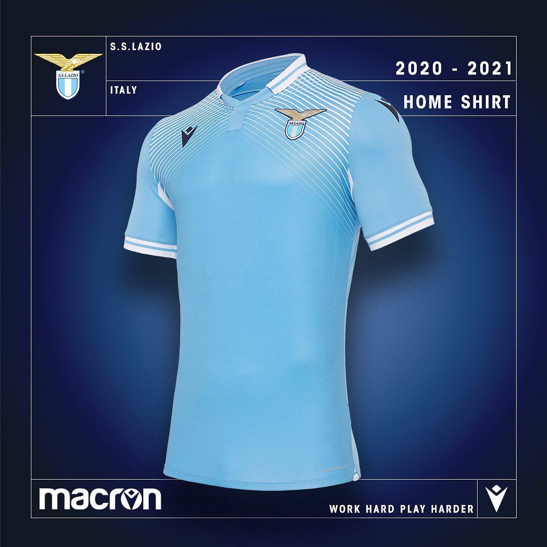 Lazio Roma thuisshirt 2020-2021 - Voetbalshirts.com