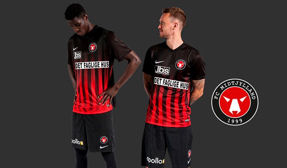 FC Midtjylland voetbalshirt 2016-2017 - Voetbalshirts.com