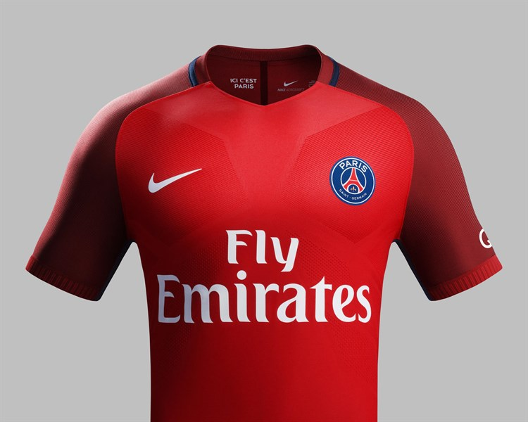 Paris -saint -germain -uitshirt -2016-2017-nike