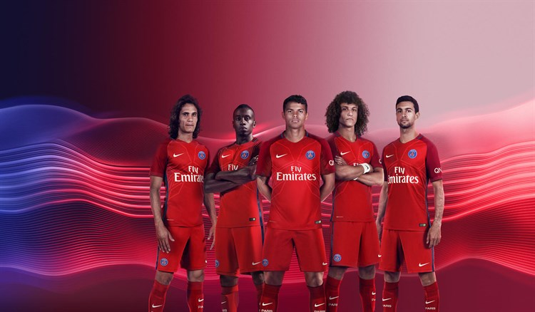 Paris -saint -germain -uitshirt -2016-2017