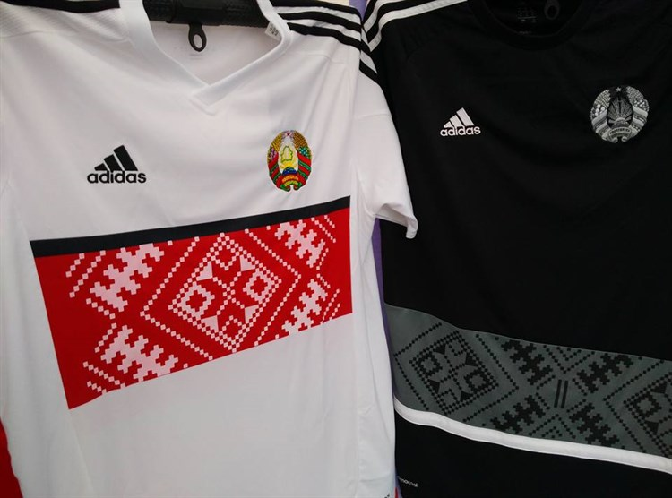 Wit -rusland -voetbalshirts -2016-2017